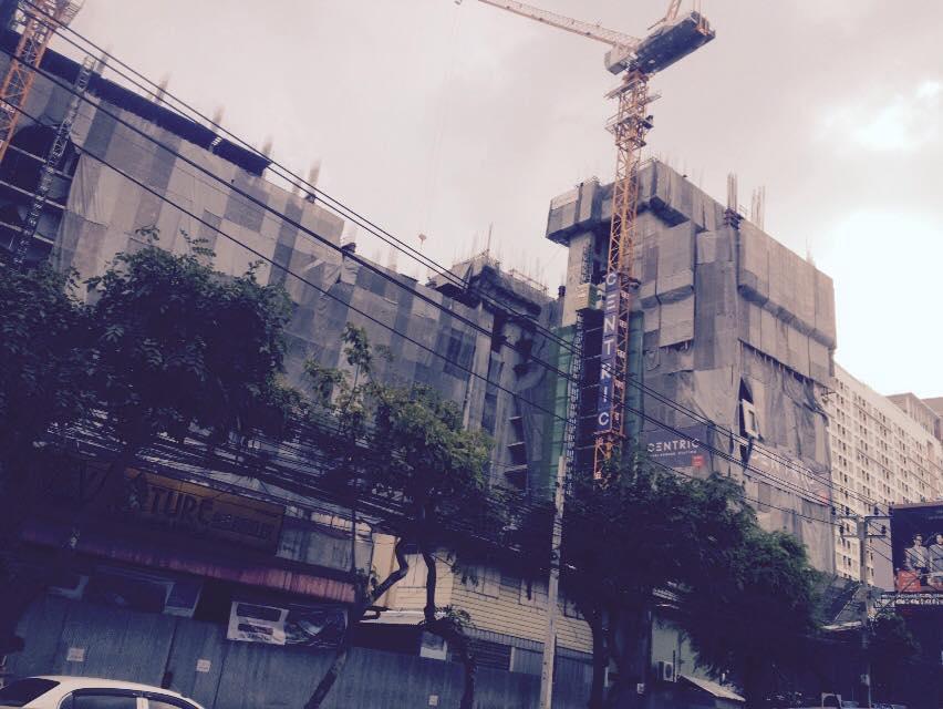フアイクワンに建築中のコンドー