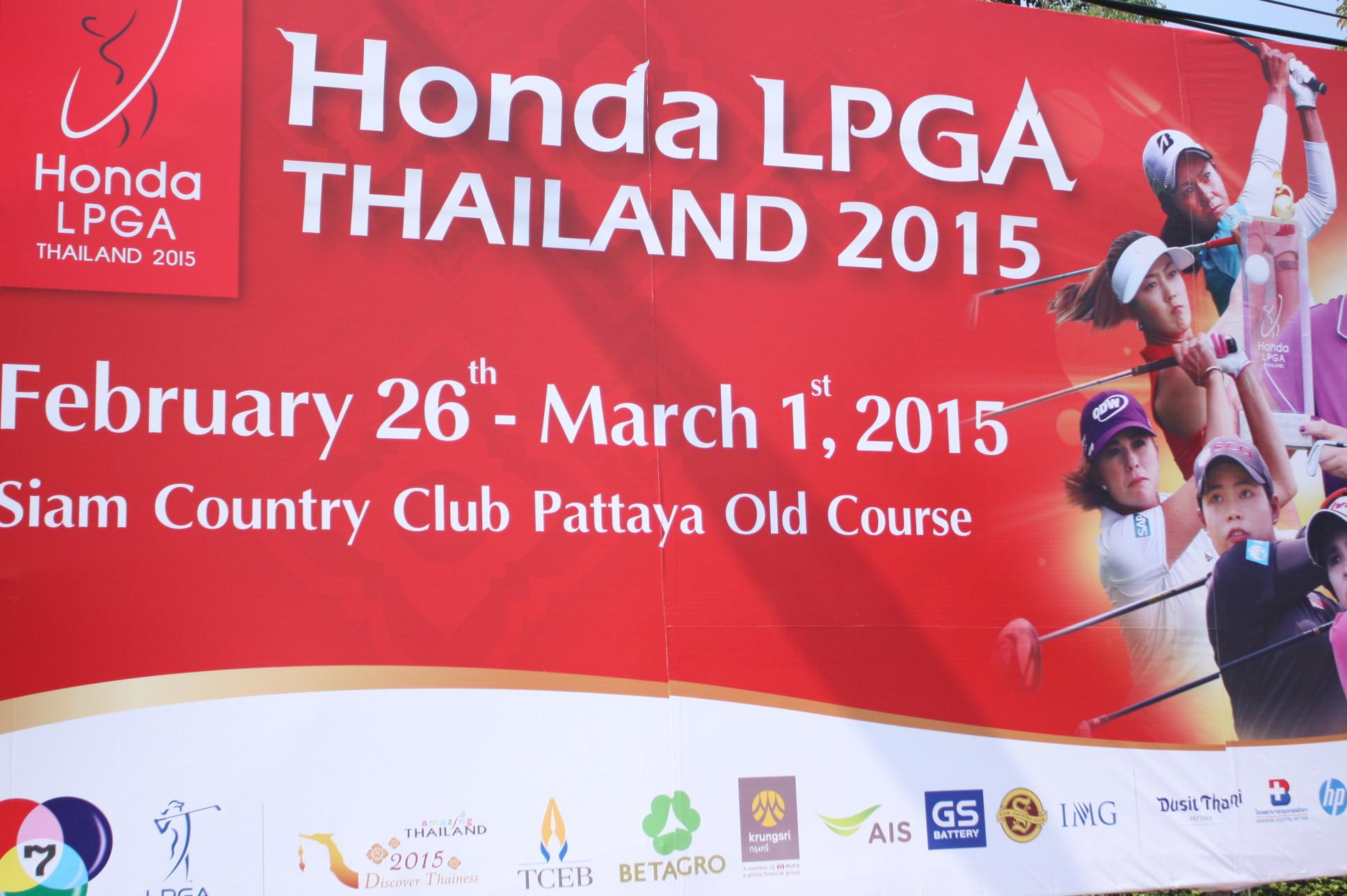 Honda LPGA THAILAND2015