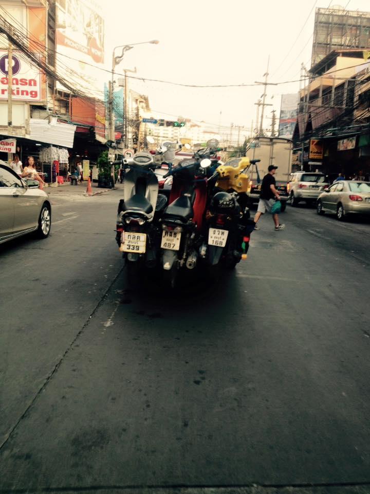 駐禁バイク